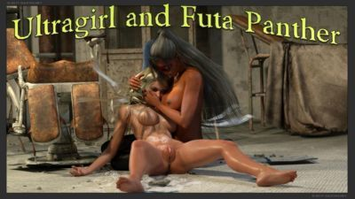 Ultragirl and Futa Panther