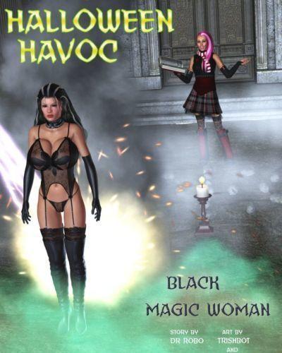 Halloween Havoc: Black Magic Woman