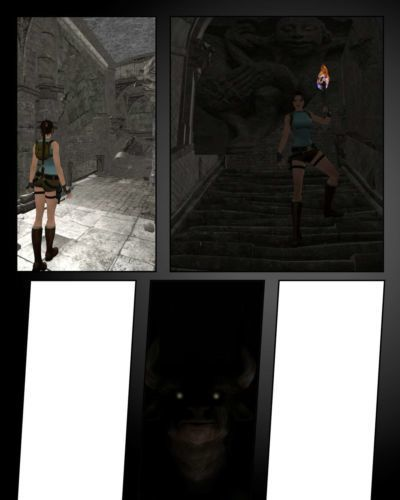Lara Croft Vs The Minotaurus W.I.P.