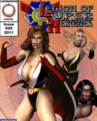 Legion Of Superheroines 29 - 46