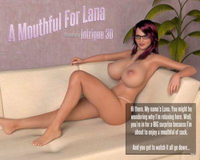 一個 滿嘴 對于 拉娜