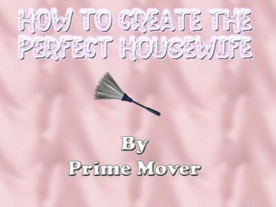 How to create the Perfect Housewife