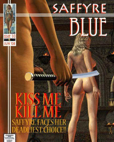 saffyre 藍色 10