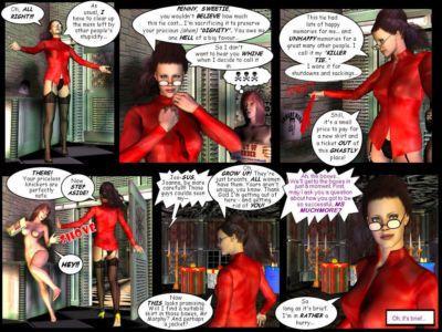 Joanna in Cyberhell - part 4