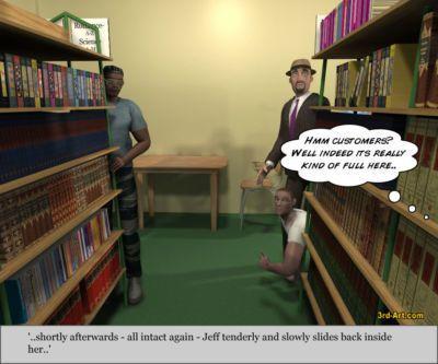 寶貝們 模型 nadia 在 的 圖書館 - 一部分 4