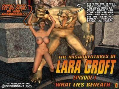The Misadventures of Lara Croft - Episode 1: What Lies Beneath
