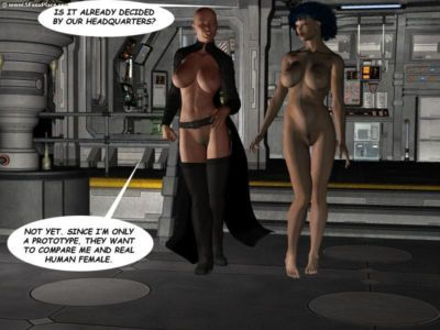 Sheena : Back to Space & Trial - part 4