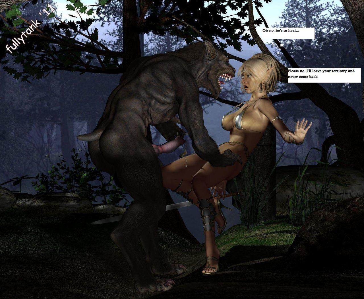 Werewolf porn pics xxx female