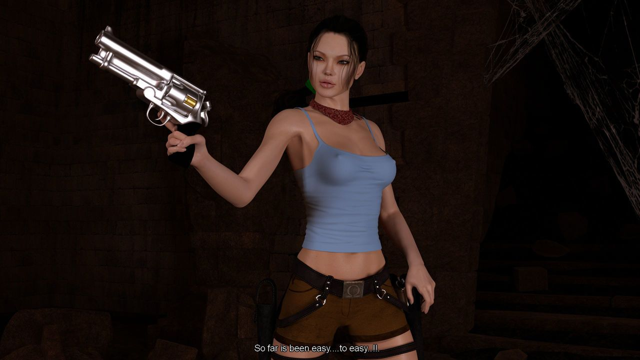 DarkSoul3D - Tomb Raider - The Death Mask of Kuk Bahlam