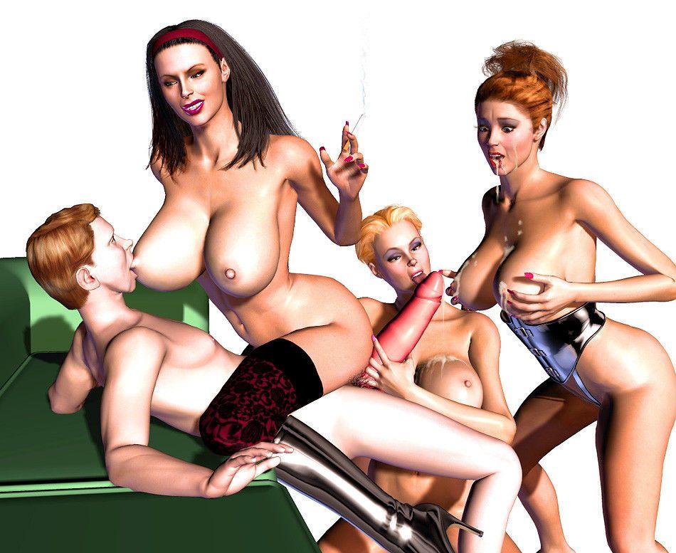 Sex toys leather dildo's