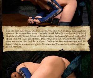 Hibbli3D – Sorceress Lori Beyond Death - part 2