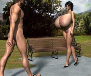 Big Dicks and Big Tits - Nudist colony
