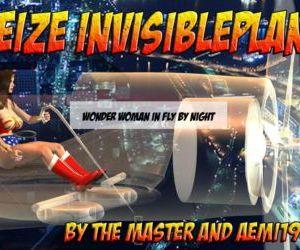 Wonder Woman - Seize Invisible Plane