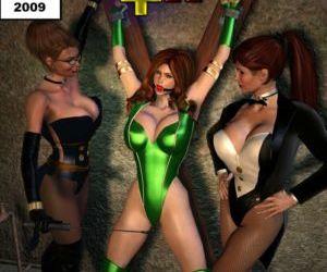Legion of super heroines 02 - Familiar Positions