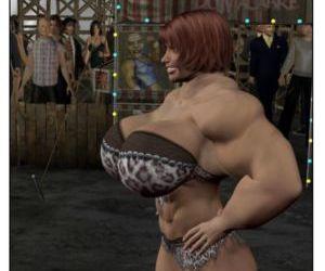 Circus Strongwoman