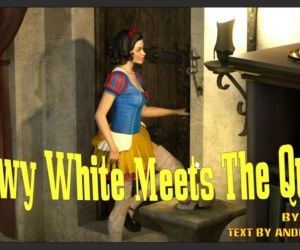 Snow White Meets the Queen