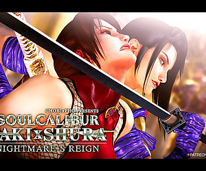 SOUL CALIBUR / TAKI x SHURA - NIGHTMARES REIGN - part 3