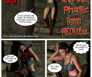 Lara Croft & The Phallic Tomb Reduxxx