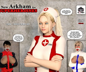 DBComix New Arkham For Superheroines 1 - Humiliation and..