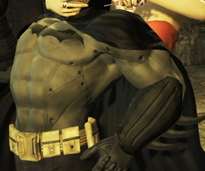 Brutal beatings of Batman by Switchblade Queen - part 2