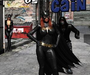 MrBunnyArt Batgirl vs Cain korean