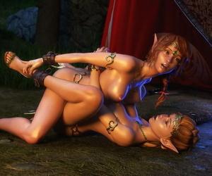 X3Z Elven Desires 5 - Lost Innocence 2 - part 4