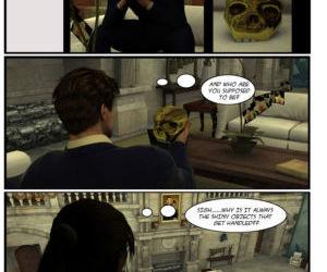 Lara Croft 3d Comic - Negotiation