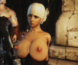 Skyrim GIRL LIKE HUGE DICK - part 3