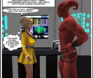 Cassi Trek: Erotic Adventures of a Sexy Ambassador from..