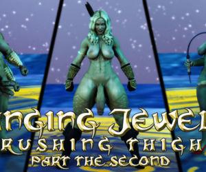 Hanging Jewels- Crushing Thighs 2