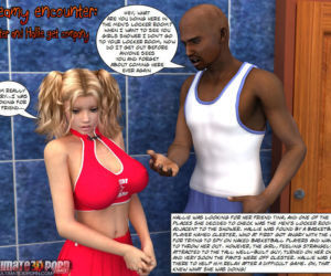 Steamy Encounter -Clester and Hallie get company