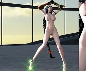 3D MMD Dancing Beauty - Reversible Campaign