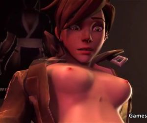 Overwatch Tracer Gets Fucked