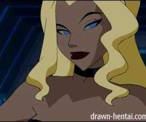 Justice League Hentai - Canary..