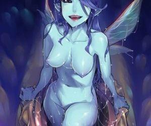 Picture- Dark fairy hatches