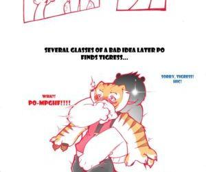 Kung fu Panda Short Comic