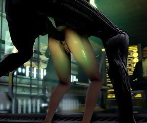 DAMNATION Lara Croft 13 min 720p