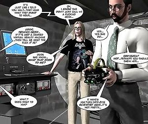 Comics Orgasm in the virtual reality 3d xxx.., 3d  All