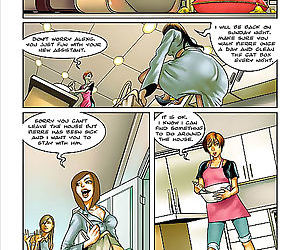Comics Christine have fun all by herself.., shemale  cartoon