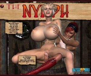 Comics The Nymph 3- Carzyxxx3D World, shemale , 3d  futanari & shemale & dickgirl