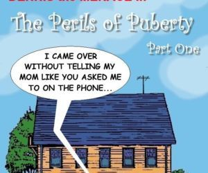 Comics Dennis The Menace- Perils of Puberty, brother sister  incest