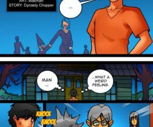 Comics Maxman – Trick or Treat 1 lesbian