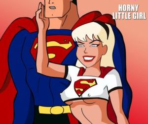 Comics Supergirl Special- Horny Little Girl xxx comix