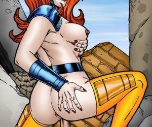 Comics Leandro- Jean Grey Gold Team POV Sex, anal  milf