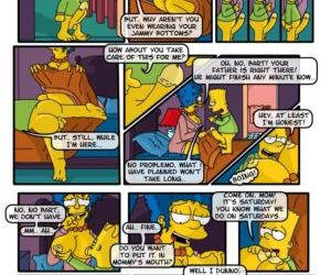 Comics A Day in Life of Marge - part 2, blowjob  family