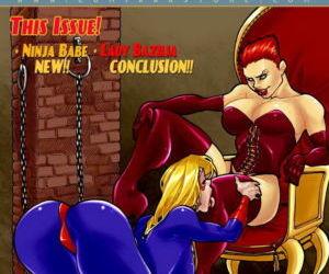 Comics 9 Super Heroines – The Magazine 3, blowjob , group  shemale