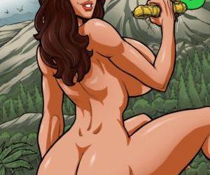 Comics ZZZ- Island Grown 3, blowjob  transformation