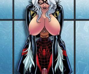 Comics Miles Morales- Ultimate Spider Man 3, cumshot  anal