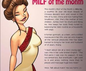 Comics Jab- Milf Magazine, full color  family