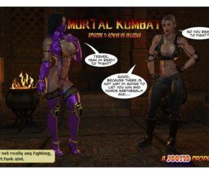 Comics Joos3DArt- Sonya Vs Mileena, blowjob , threesome  double-penetration